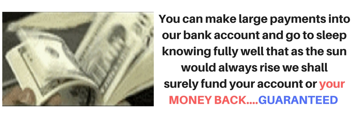 Click on slide to visit page - We  fund your Perfect Money at good rates