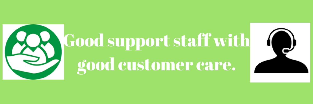 We surely listen and take good care of our customers