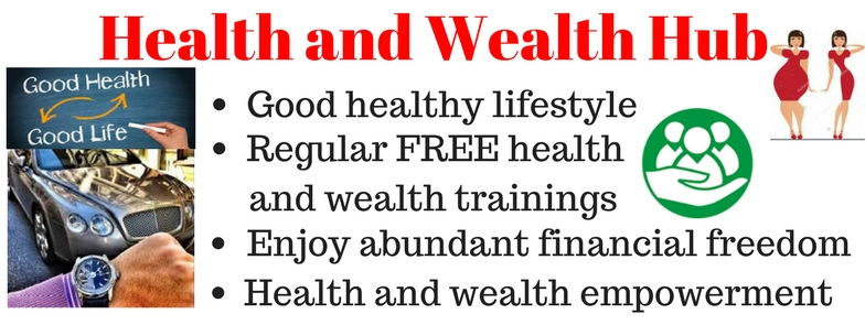 Click on slide to visit page -  Learn how to be HEALTY and WEALTHY  even in a depressed ecomony