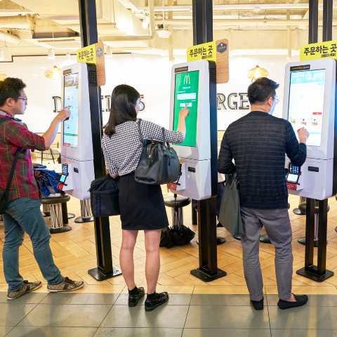 Bithumb Launching Kiosks at Restaurants for Food Orders and Crypto Payments in Korea