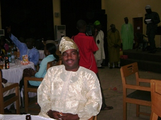 In my Alma mata (ICOBA) xmas party in December 2007